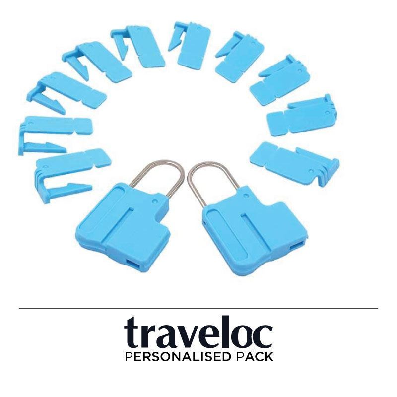 Picture of Personalised Traveloc - Blue