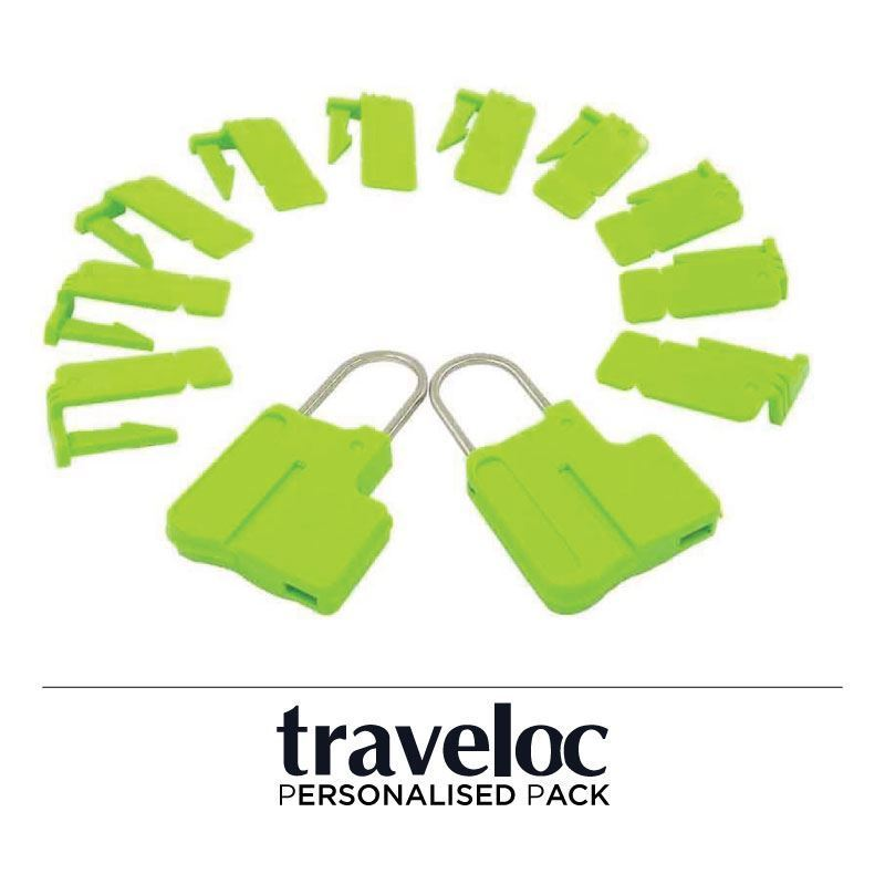 Picture of Personalised Traveloc - Green