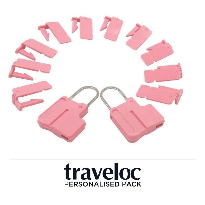 Picture of Personalised Traveloc - Pink