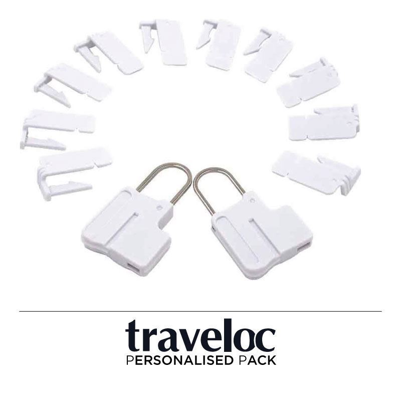 Picture of Personalised Traveloc - White