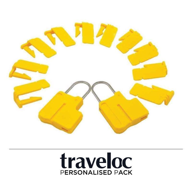 Picture of Personalised Traveloc - Yellow